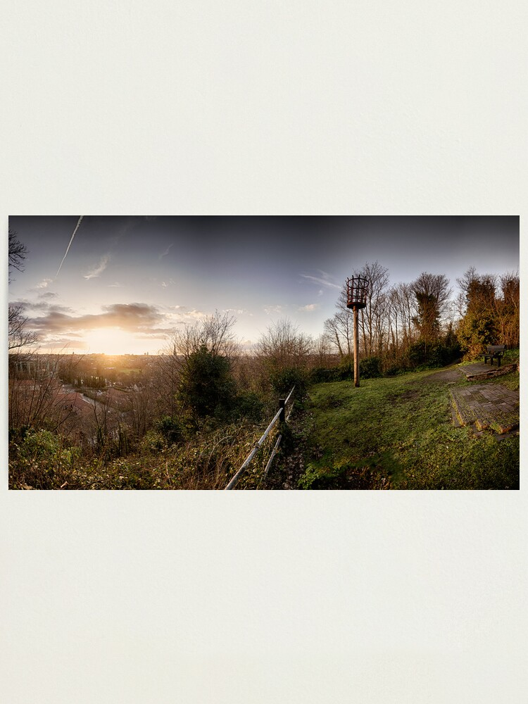 Alternate view of Ketts Heights, Norwich Photographic Print
