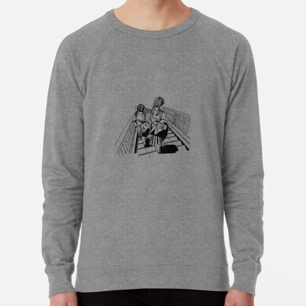 Japanese School Girls Lightweight Sweatshirt