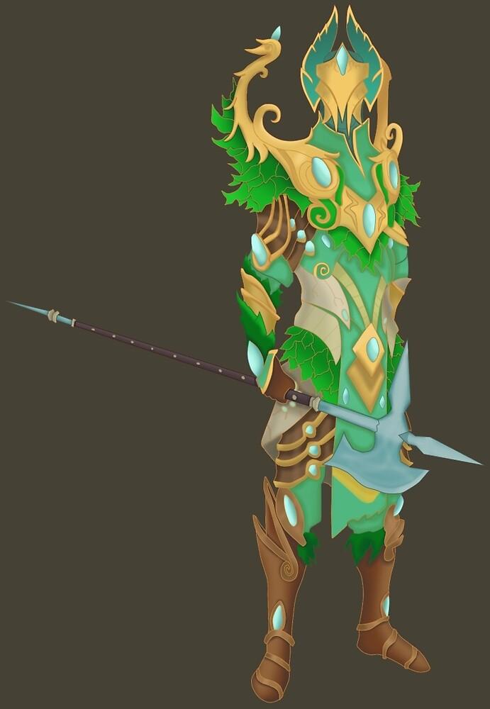 Prifddinas Guard by Zaydskate