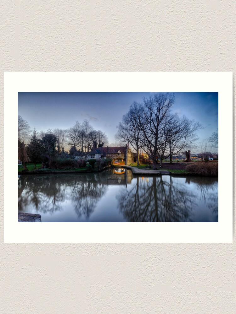 Alternate view of Pulls Ferry, Norwich Art Print