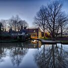 Pulls Ferry, Norwich by Ruski