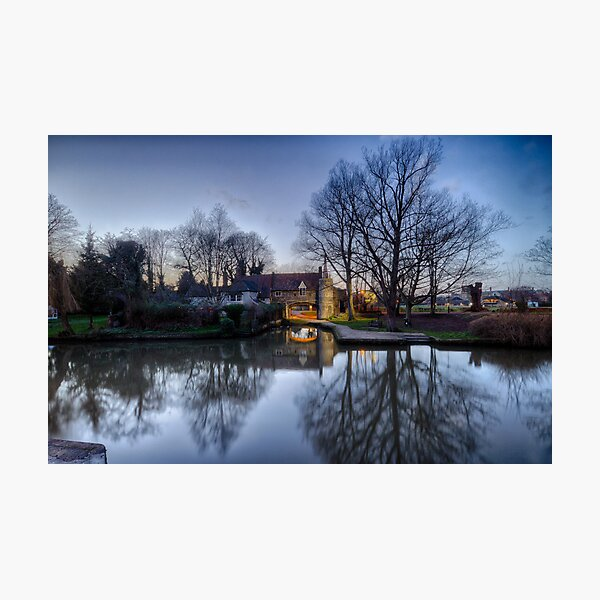 Pulls Ferry, Norwich Photographic Print