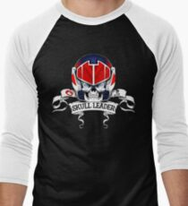 Skull Leader Men's Baseball ¾ T-Shirt