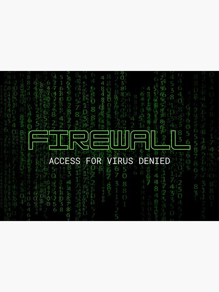 Firewall Green by NeuralNine