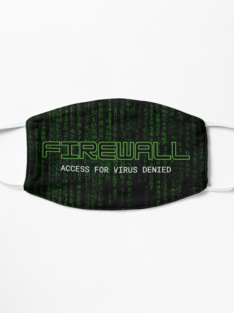 Alternate view of Firewall Green Mask