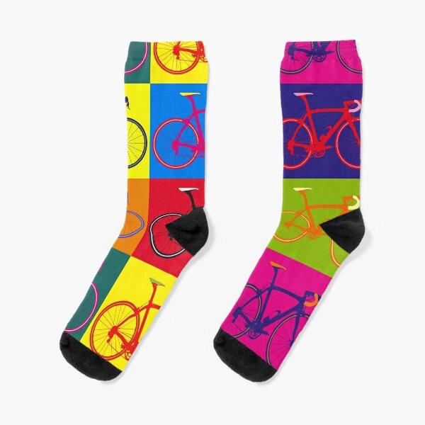 Bike Andy Warhol Pop Art Socks