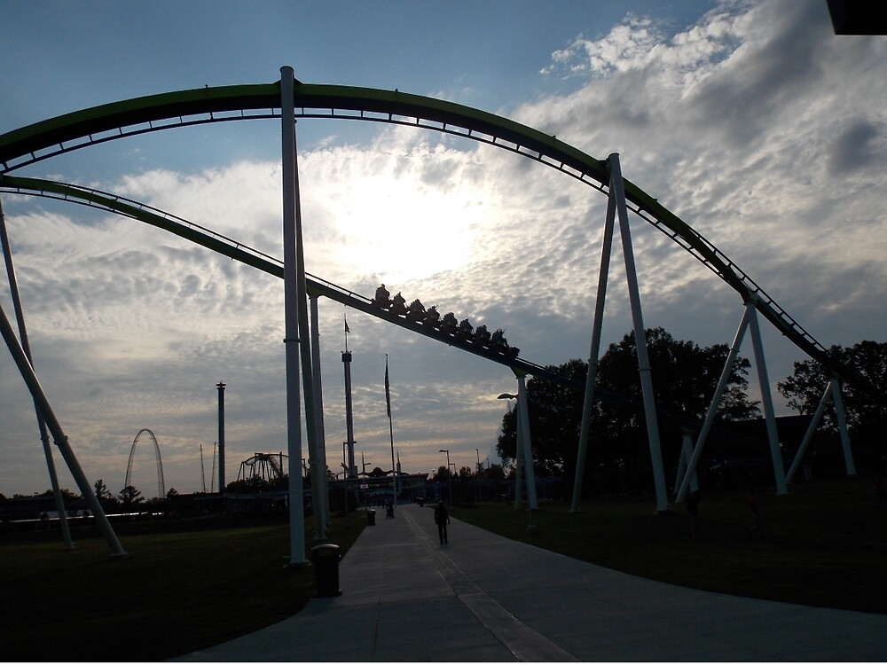 Fury 325 at Carowinds Roller Coaster by CoasterLife