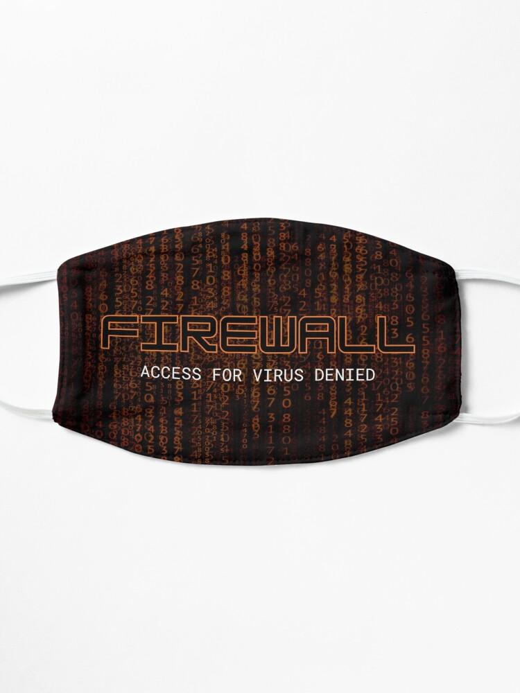 Alternate view of Firewall Orange Mask