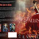 Falling Book Cover Jacket Design by Adara Rosalie