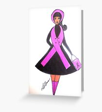 Breast Cancer Awareness Cards Greeting Card