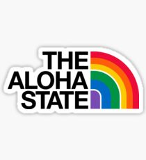 The Aloha State #hepuakiko Sticker