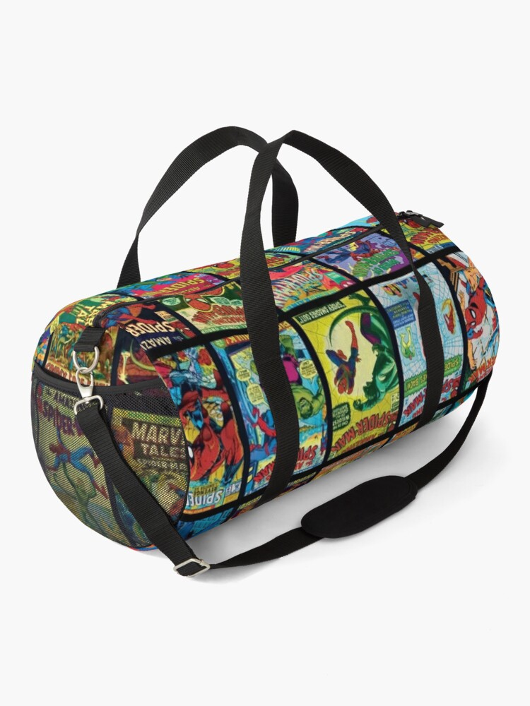 Alternate view of Vintage Superhero Comic Book Collection Pattern 3 Duffle Bag
