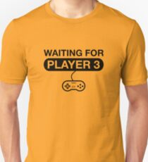 Waiting For Player 3. Maternity T -Shirt Slim Fit T-Shirt