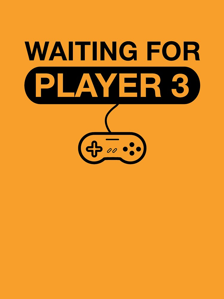Waiting For Player 3. Maternity T -Shirt by darkshiness