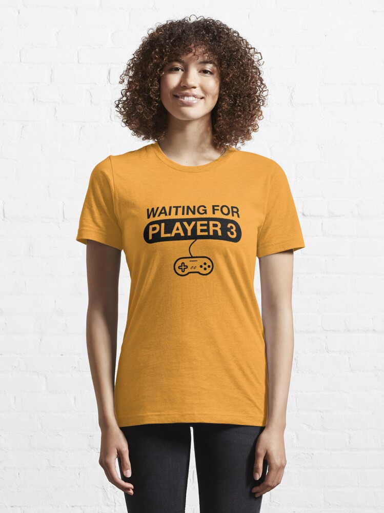 Alternate view of Waiting For Player 3. Maternity T -Shirt Essential T-Shirt