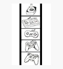 Video Game Controllers Photographic Print