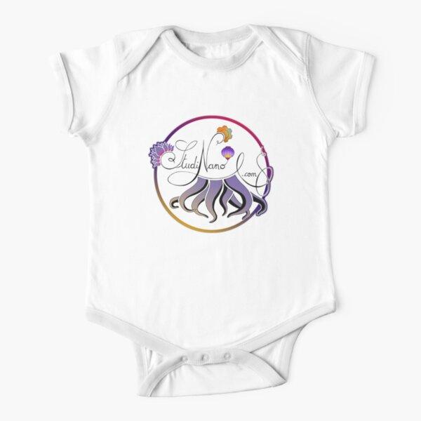 Logo Studinano Short Sleeve Baby One-Piece
