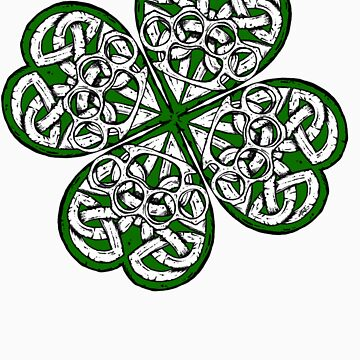 Brass Knuckle Shamrock solid by ZugArt