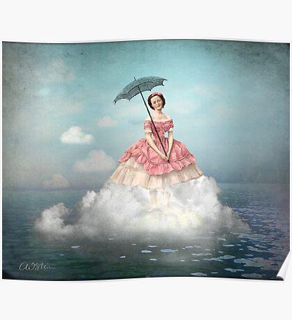 Swimming Cloud Poster