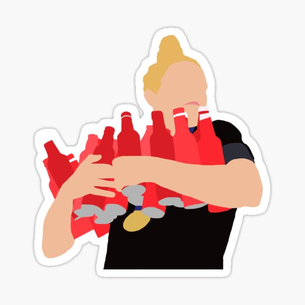Kristie Mewis - Challenge Cup Celebration Sticker