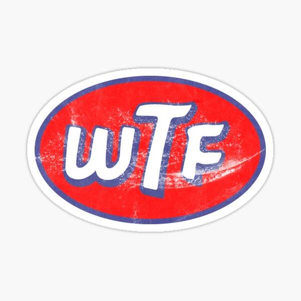 STP WTF Logo Sticker