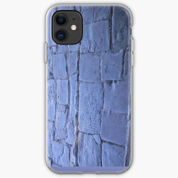 Blue path iPhone Soft Case