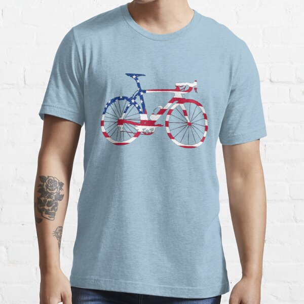 Bike Flag USA (Big) Essential T-Shirt