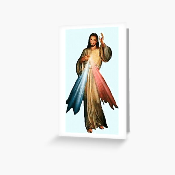 'Jesus Greeting Card