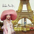 Eiffel Tower and Carla Bruni by Dulcina