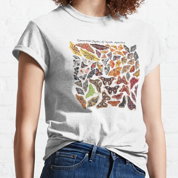 Saturniid Moths of North America Classic T-Shirt