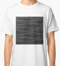 Chalkboard Christmas Lights Classic T-Shirt