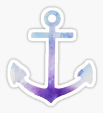Anchor Watercolor Sticker