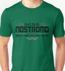 Nostromo Crew Alien T Shirt Unisex T-Shirt