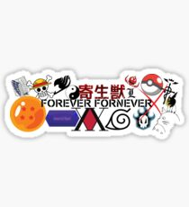 Ultimate Anime Fan Sticker