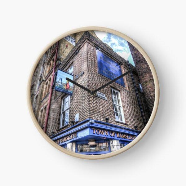Town Of Ramsgate Pub London Clock
