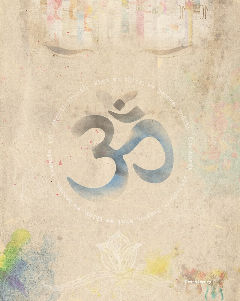 Om Old letter by Pranatheory