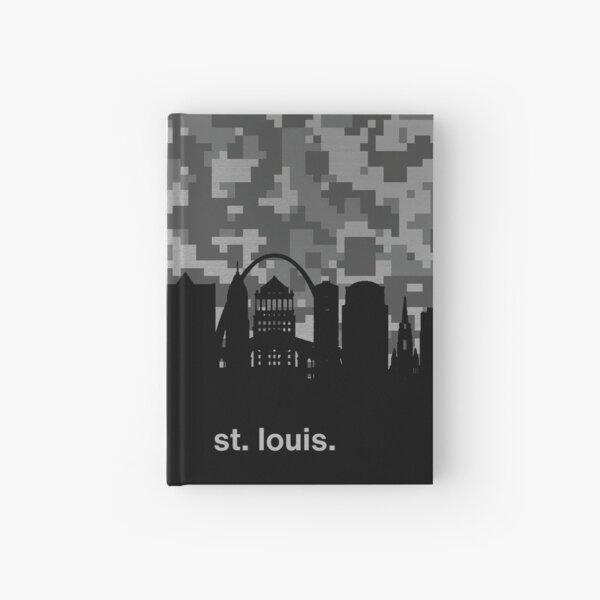 My heart beats for United States of America, St. Louis Hardcover Journal