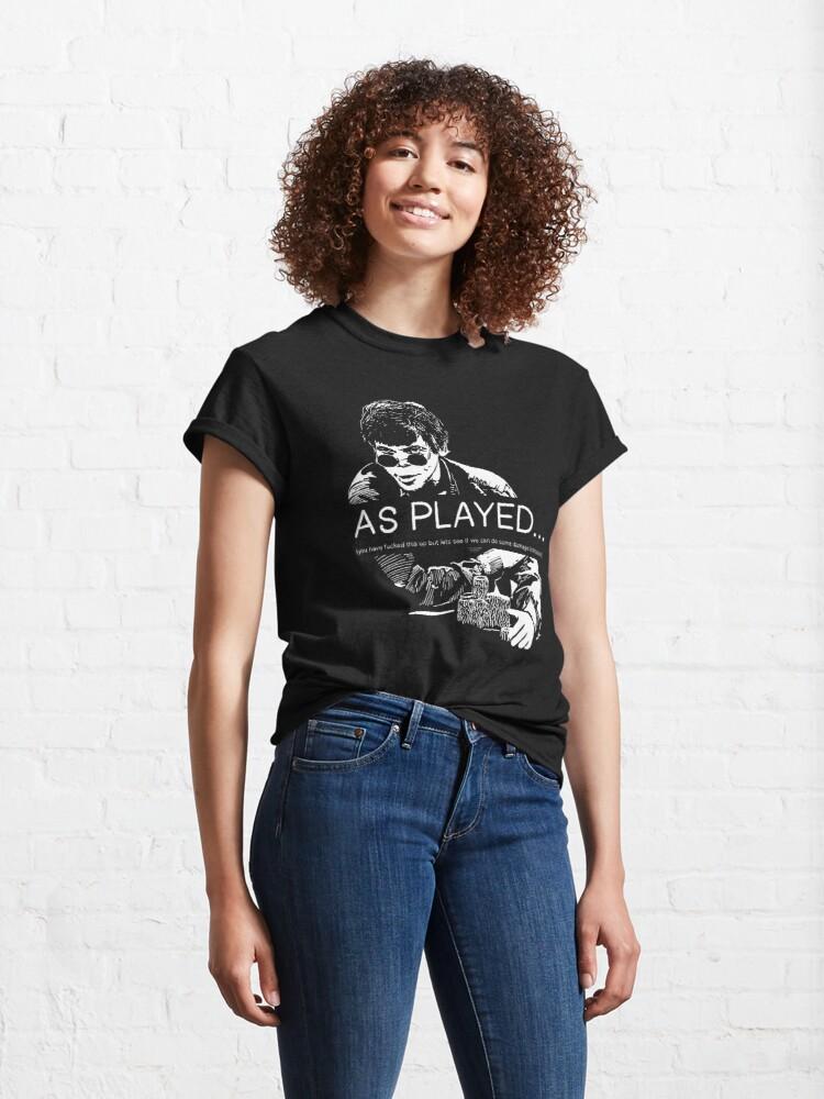 Alternate view of As Played... Classic T-Shirt