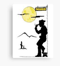 Cowboy Saloon Canvas Print