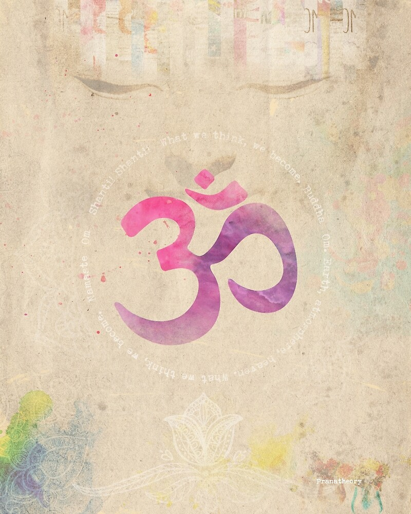 Om old letter PINK vers by Pranatheory