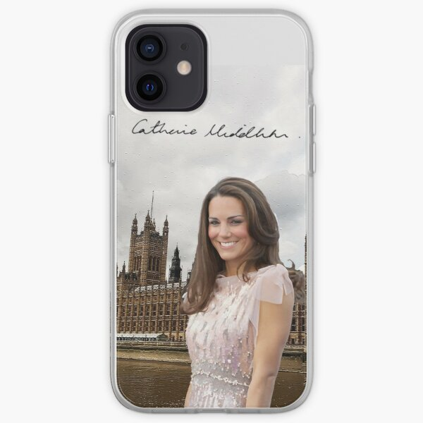 Kate Middleton and the Houses of Parliament iPhone Soft Case