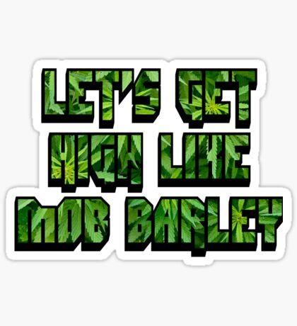 Mob Barley Sticker