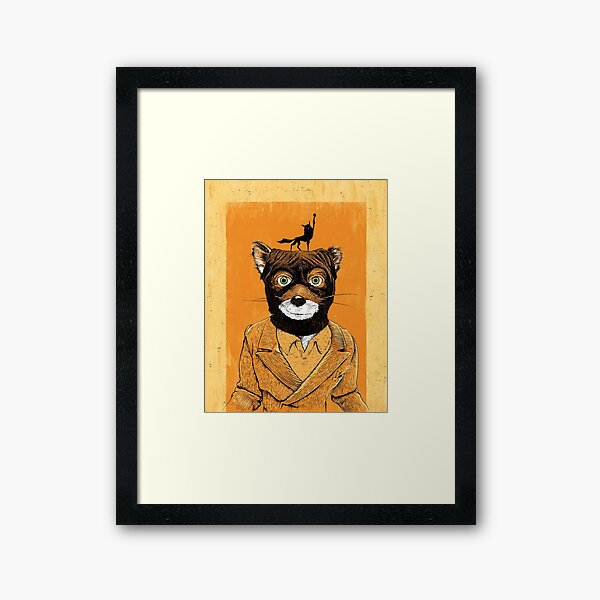 Mr Werewolf Framed Art Print