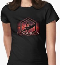 Ltd Edition Red Penguicon Galaxy Womens Fitted T-Shirt