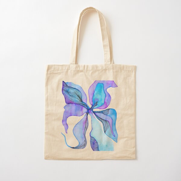 Cosmic Flower Cotton Tote Bag