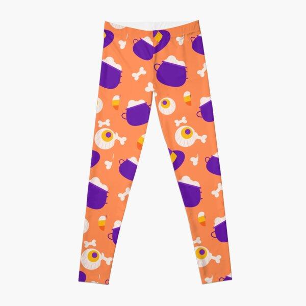Hello Halloween Pattern Leggings
