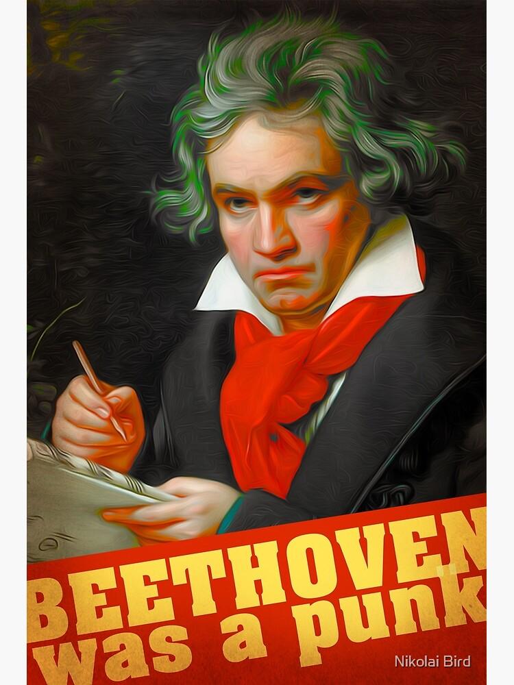 Ludwig van Beethoven by artisu