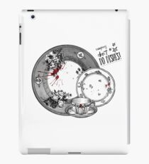 Vampires Don't Do Dishes iPad Case/Skin