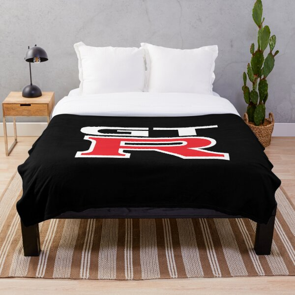GTR Logo Throw Blanket