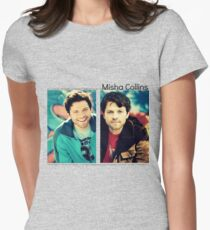Misha Collins Women's Fitted T-Shirt